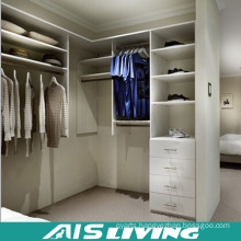 Bedroom Walk in Venner Finish Wardrobe Closet (AIS-W005)