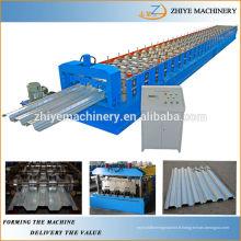 Feuilles de plancher de plancher en acier Machines à former des rouleaux