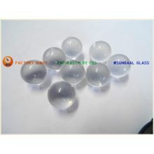 Effacer la boule en verre transparente, boule de verre, billes de verre