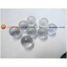 Limpar a esfera de vidro transparente vidro, grânulo de vidro