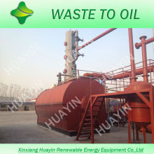 Lower Sulfer Oil 85%-95% Output Used Engine Oil Recycling Machine To Diesel Macine With SGS Air Mission