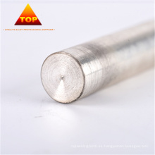 Barra de electrodo de tungsteno de plata de tecnología PM