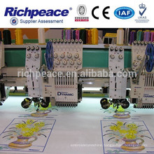 Computerized Multifunction Embroidery Machine for Flat Coiling Cording Sequin