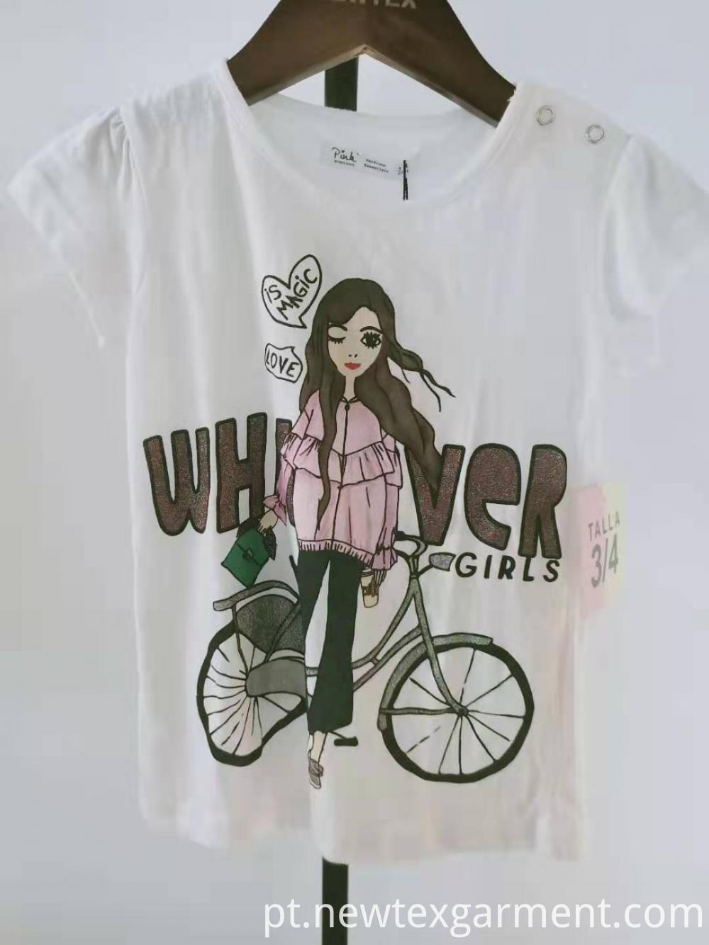 grils short sleeve top