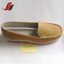 Neueste Frauen Loafer Schuhe Freizeit Leder Schuhe (XF1088-39)