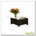 Audu Aluminum Rattan 50cm SIDE TABLE