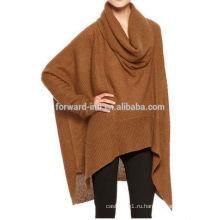 Новый стиль оптовая продажа женщины пуловер 2014 с batwing рукавом