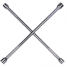 Cross Rim Wrench Mango de moleteado completamente pulido