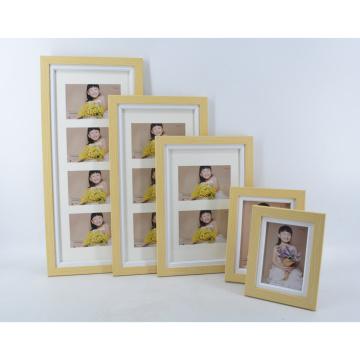 MDF Fotorahmen mit Holzkorn