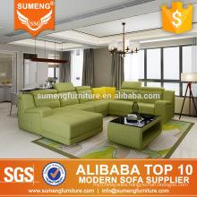 SUMENG Simple orange arabic majlis fabric sofa for sale