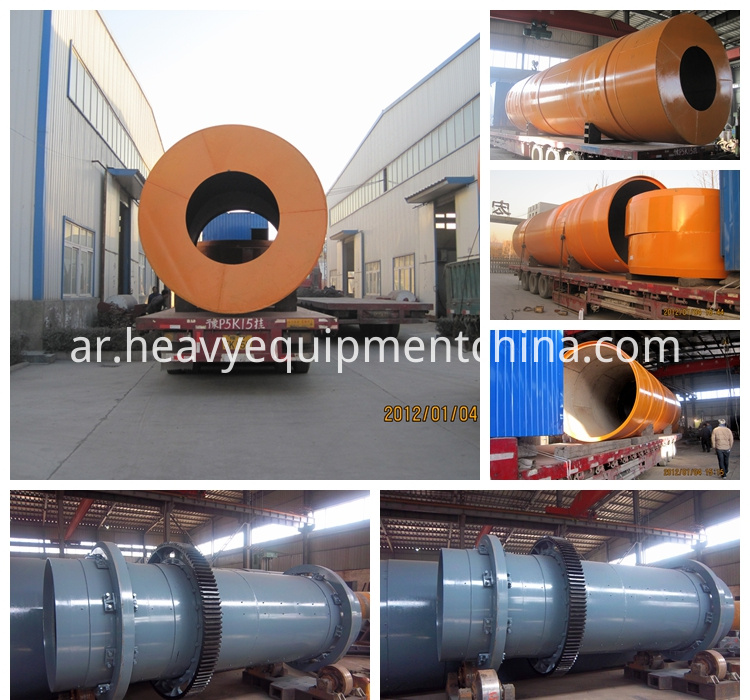 Mobile rotary dryer price