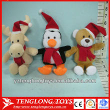 Nette und gefüllte Großhandel Plüschtier Spielzeug für Weihnachten