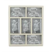 Nuevo marco de madera de los collages en 2 diseño