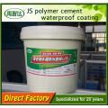 Revestimento impermeável composto quente do cimento Js do polímero da resistência do tempo das vendas no baixo preço