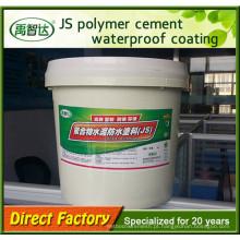 Materiais líquidos da parede de Waterstop da membrana do telhado dos revestimentos da emulsão do cimento