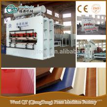 Hot sale 4X8 melamine mdf laminage machine à presser à chaud
