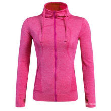 Long-Sleeve Hooded Women Fitness T-Shirt Sports Clothing 5 Color