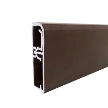Flooring Accessories Kitchen Cabinet PVC Baseboard,P55-A