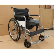 PL - 804D polvo barato sillas de ruedas estructura de acero más grueso de capa