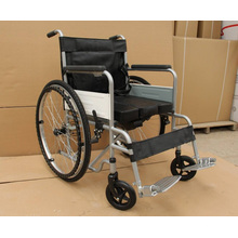 Pl-804D Cheap Manual Powder Coating Thicker Steel Frame Wheel Chairs