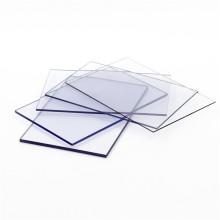 Folha sólida de policarbonato de material de cobertura melhor transparente