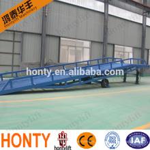 Рампа дока контейнера нагрузки 10 тонн передвижная регулируемая для грузоподъемника для продажи