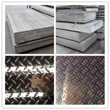 Hoja de aluminio de tamaño estándar 6061