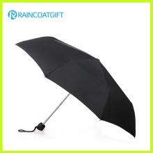 Черный Путешествия Премиум-Автоматический Складной Зонтик