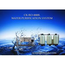 Système d'osmose d'inversion de filtre d'eau alcaline pour l'eau de bord de mer