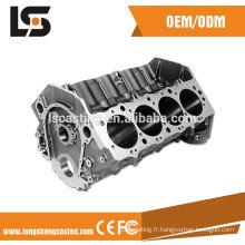 20 ans fabricant en aluminium couvercle de moulage mécanique sous pression pour couvercle de pièces de moteur de moto moulage sous pression