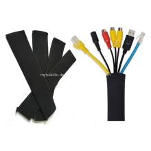 Neopren Kabel Organizer Wrap mit Reißverschluss