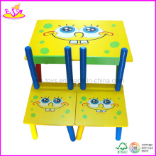 Children Desk and Chair (WO8G080)