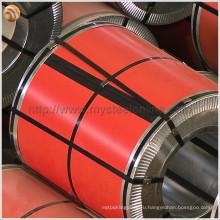 Стандартная ASTM, DIN и DX51D окрашенная оцинкованная сталь в рулонах