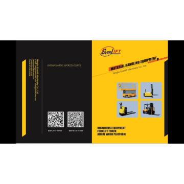 1.3Ton 1.4ton 1400Kg 3m 4.5m 5m 5.5m 6m AC with EPS Scissor Type Electric Pantograph Reach Stacker