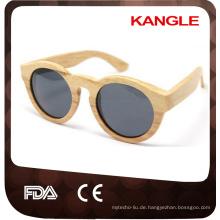 handgefertigte Bambus Großhändler China Zebra Holz Sonnenbrille