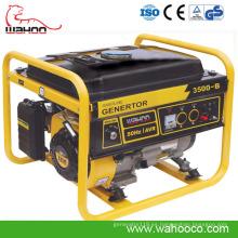 Generador de gasolina trifásico de 2.5kw con CE (WH3500-B)