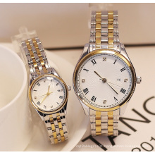Water Resistant Gold and Silver Color Gift Watch