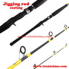 Moulin à haute teneur en charbon Jigging Fishing Rod