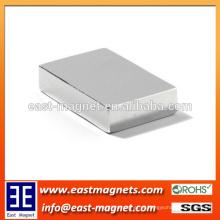 Fábrica ímã permanente sinterizado do ímã F20x10x3mm / ndfeb do bloco do neodímio para a venda