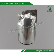 Folha laminada de plástico Stand up Packaging Bag for Beverage / Daily Chemical Products
