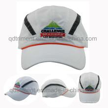 100% Polyester Microfaser weiche Stoff Sport Baseball Cap (DOCR0126)