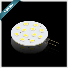Round 2W 12pcs 2835SMD G4 LED Light