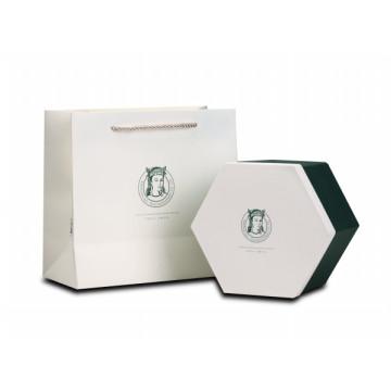 Irregular Rigid Handmade Paper Food Box