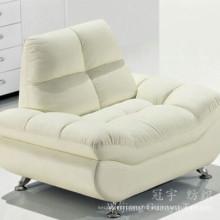 Tissu de daim de polyester de faux cuir pour des couvertures de sofa à la maison