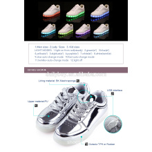 Unisex Boys USB Charging light Flashing Sneakers LED Shoes