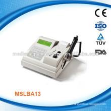 MSLBA13W Einkanaliger tragbarer klinischer Blutgerinnungsanalysator mit Koagulationsreagenz