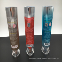 Neue laminierte Rohrhersteller Großhandel Abl Aluminium PE Kunststoff leer Zahnpasta Tube Verpackung