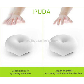 2017 online shopping uk IPUDA Q7 motion activated led light with fast charging plug in base dimmable brightness