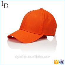 Chapeau de baseball de couleur de mode noir et rouge haut-de-forme pour les garçons