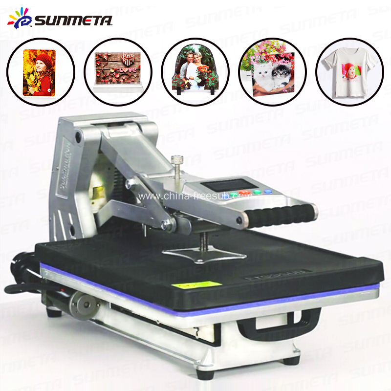 Freesub tshirt sublimation heat press machine china for T shirt manufacturing machine in india